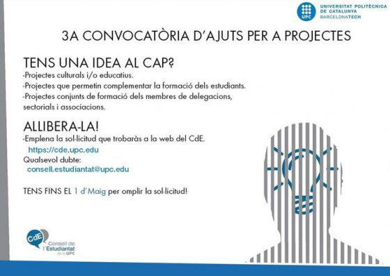 Convocatòria d'Ajuts a Projectes (CAP)