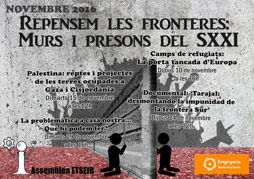 Repensem les fronteres: Murs i presons del SXXI